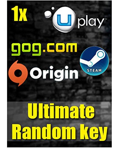 Amazon price history for 1x Ultimate Random Key PC Download Code (Chance to Win Battlefield 4,FIFA 17,Watch Dogs,Grand Theft Auto V,Far Cry,Witcher 2,Mad Max & Many more !