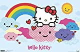 Trends International Hello Kitty Clouds Wall Poster 22.375' x 34'