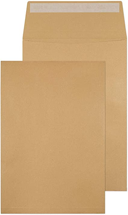 4522//25 PR Manilla Blake Purely Everyday C4 324 x 229 mm 115 GSM Pocket Peel and Seal Envelopes Pack of 25