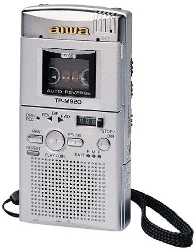 Aiwa TP-M920 Microcassette Recorder