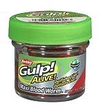 Gulp! Alive Maxi Bloodworm by Berkley