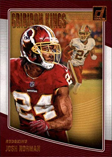 2018 Donruss Gridiron Kings Football Card #40 Josh Norman NM-MT Washington Redskins Official NFL Trading Card ()