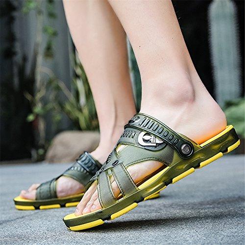 Slip Sandals Sport Shoes Slides Clogs Slippers Outdoor Shower Pool Garden Summer Walking Non Unisex Breathable Beach 01 Techcity Yellow PX01wq