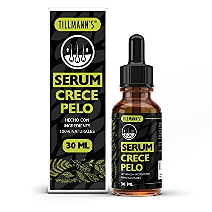 Serum Cabello - Serum Para El Pelo | Crece Pelo Rapido Mujer Y Hombre | Previene Caida Del Cabello | Anticaida Cabello | Hair Serum | Natural Y Vegano ...