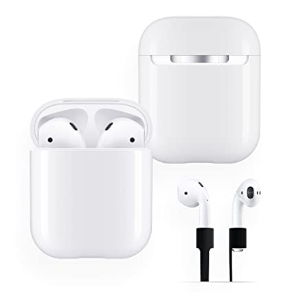 new concept 4f4a7 4de53 FRTMA Replacement AirPods Case Protective, Hard PC [No Collect Dust] Cover  and Case for Apple AirPods with Anti-Lost Strap for AirPods Accessories ...