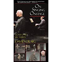 On Singing Onstage Video Library