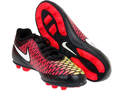 Nike - Scarpe da calcio Junior Magista Ola FG-R Volt Hyper Punch, misura 48, colore: Nero/Giallo paglierino