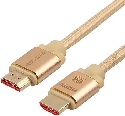 Greyghost - Cable HDMI a HDMI 2.0 4K para Xiaomi Mi TV Box 3 Laptop Npire Switch PS4 PS3 DVB T2: Amazon.es: Electrónica