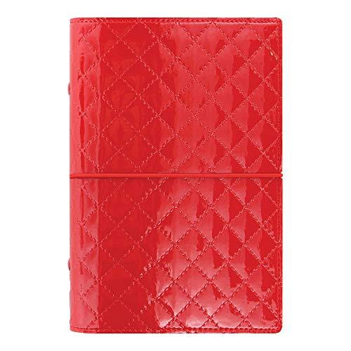 Filofax 2019 Personal Organizer, Domino Luxe Red, 6.75 x 3.75 inches (C027988-19)