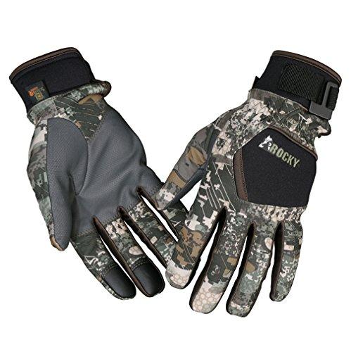 Rocky Mens Stratum Gloves  Rocky Venator Camo  Xl