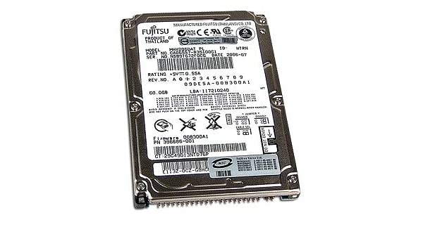 Fujitsu MHV2040AT - Hard Drive - 40 GB Maintenance Manual