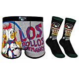 Breaking Bad Walter White Official Gift Mens Dress Socks & Boxer Shorts