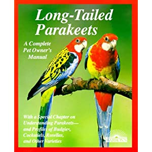 Long-Tailed Parakeets (Complete Pet Owner's Manuals) 12