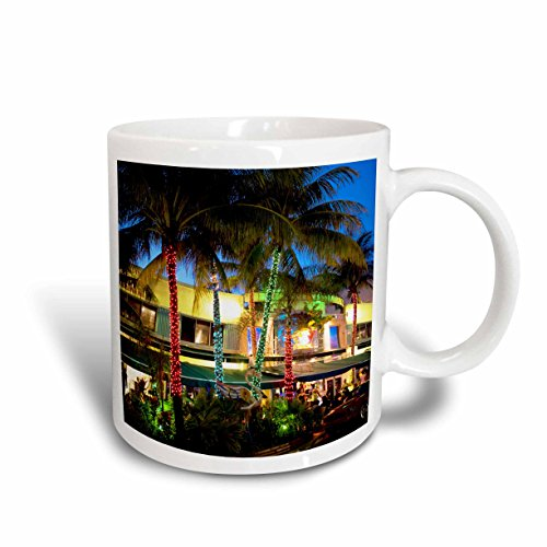 3dRose Ocean Drive, South Beach, Miami Beach, Florida US10 GJO0300 Greg Johnston, Ceramic Mug, - Miami Beach Outlets South In