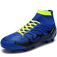 DREAM PAIRS Men's 160858-M Fashion Cleats Football Soccer Shoes