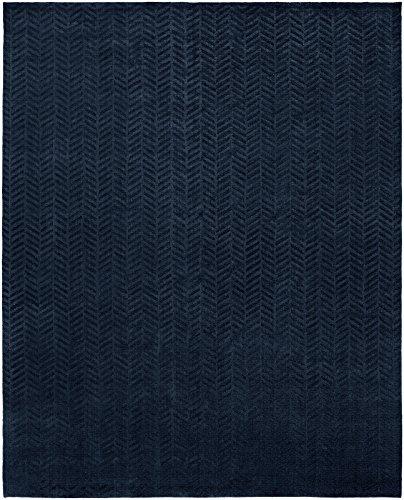 Kalaty AV-198 810 Avalon Area Rug, 8' x 10', Midnight Blue