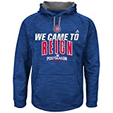"Chicago Cubs Blue 2016 Postseason Youth ""We Came to Reign"" Pullover Hoodie"