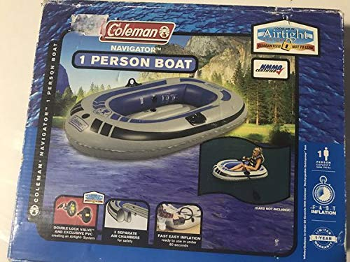 C o l e m a n 1 person inflatable boat - Navigator