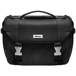 Nikon Deluxe Digital SLR Camera Case - Gadget Bag with Pop-up Filter Set + Kit for D610, D750, D810, D850, D7200, D7500, D5500, D5600, D3300, D3400 by Nikon
