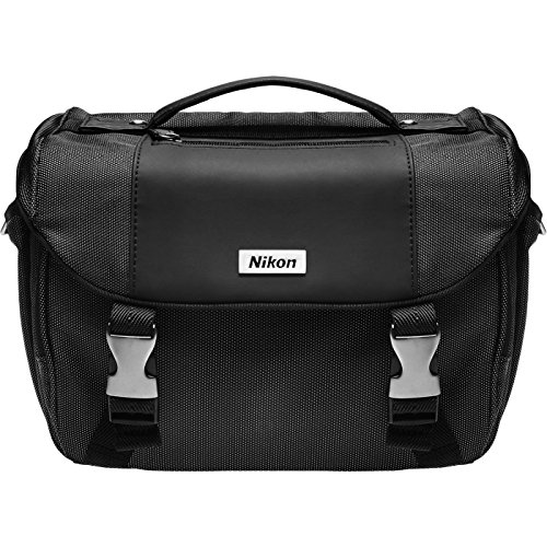 Nikon Deluxe Digital SLR Camera Case - Gadget Bag for D4s, D800, D610, D7100, D7000, D5500, D5300, D5200, D5100, D3300, D3200, D3100 (Nikon D5100 Slr Digital Camera)