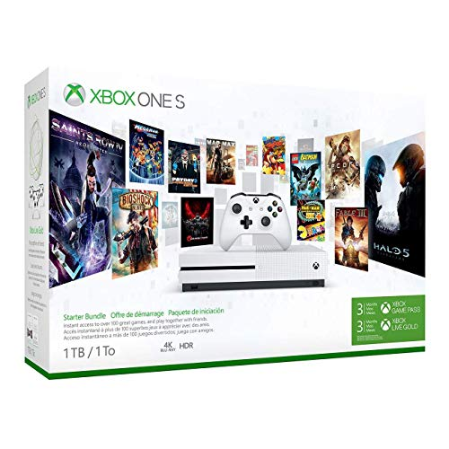 Xbox One S 1Tb Console - Starter Bundle (Discontinued)