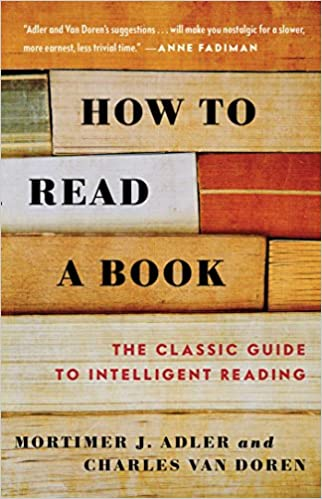 How To Read A Book - Mortimer Adler