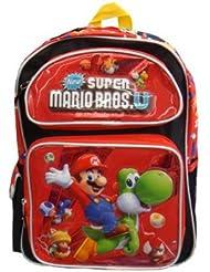Super Mario Bros. U : Mario & Yoshi 12 Toddler Backpack