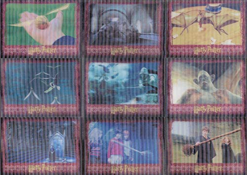 (THE WORLD OF HARRY POTTER MOVIE 3D SERIES 1 2007 COMPLETE BASE CARD SET OF 72)