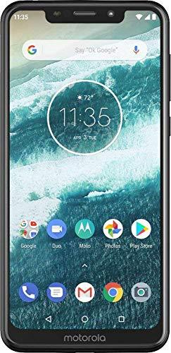 Motorola One XT1941-3 32B Unlocked GSM Dual-SIM Phone w/Dual 13+2 Megapixel Camera - ()