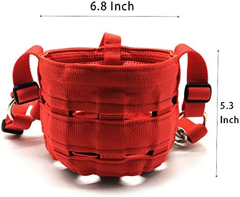Optional Easy Breathe Horse Mouth Cover Nylon Grazing Muzzle with Halter Under Chin Head Collar Adjustable SHTWX Deluxe Comfort Lined Grazing Muzzle