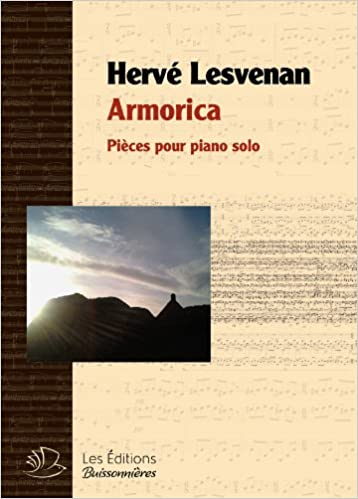 Book Armorica, Pieces pour Piano Solo, Partitions