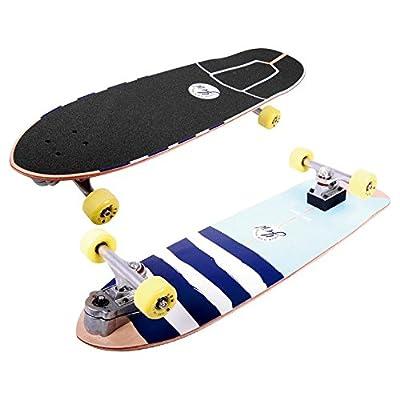 Yow - Longboard Skate Board Carver Waikiki Way - Taille:one Size