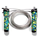 Cheap BodyGood Pro-Grade Speed Jump Rope. Best for Crossfit, Double Unders, MMA/Boxing, Skipping, Endurance Fitness Workouts or Weight Loss. Adjustable. for Men and Women.Tested by Professional Athletes