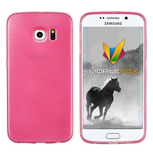 Mobilefox Paul Schutzhülle Soft Case Samsung Galaxy S6 Edge Pink