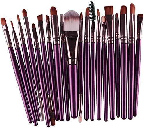 Demarkt 15X Brocha para Maquillaje Set de Herramientas Base Polvo ...