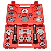 8milelake 21pc Professional Disc Brake Caliper Wind Back Tool Kit