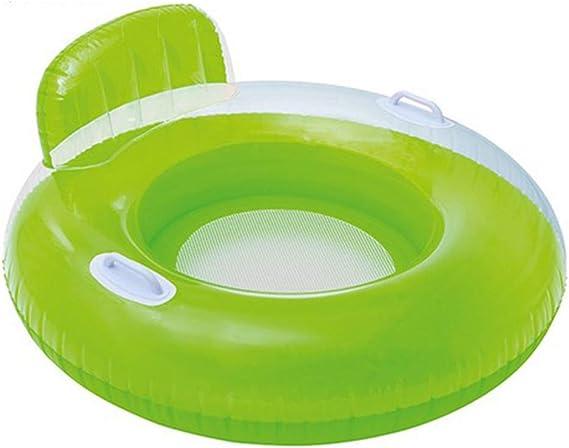 Verde Hinchable colchonetas Piscina Inflable Flotador Piscina para Adultos y Niños Hinchables Juguete para Fiesta de Piscina: Amazon.es: Deportes y aire libre