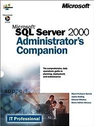 Microsoft SQL Server 2000 Administrator's Companion