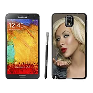New Personalized Custom Designed For Samsung Galaxy Note 3 N900A N900V N900P N900T Phone Case For Christina Aguilera Kiss Phone Case Cover
