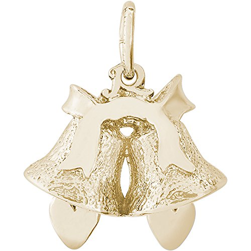 Rembrandt 14K Yellow Gold Bells Charm (16 x 14 mm) by Rembrandt Charms