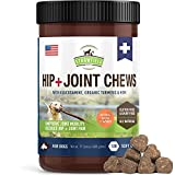 Strawfield Pets Glucosamine Chondroitin for Dogs - Joint Supplements w MSM - Turmeric - 120 Dog Treats - Hip Joint Health Support for Canine Arthritis Pain Relief - Dysplasia - Immune System - Mobility