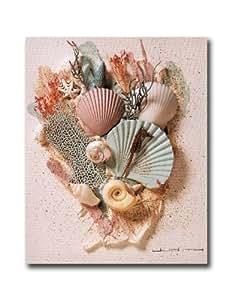 Ocean Starfish Sea Shell Beach Bathroom # 2 Wall Picture 8x10 Art Print