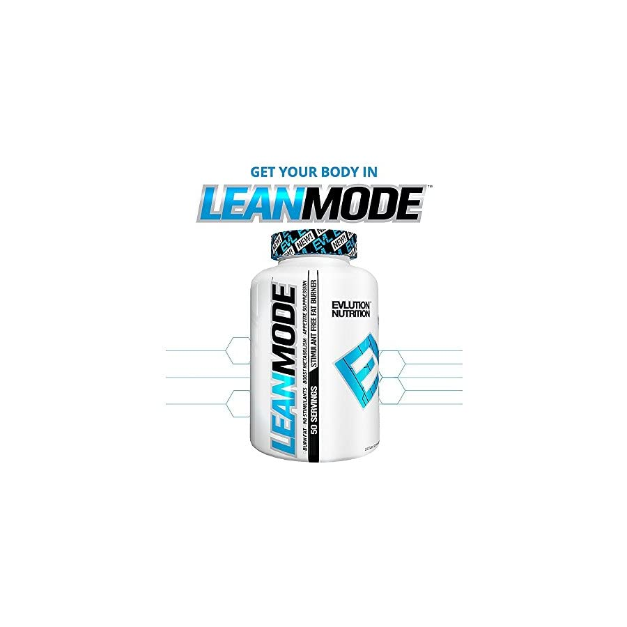 Evlution Nutrition Lean Mode Stimulant Free Weight Loss Support with Garcinia Cambogia, CLA and Green Tea Leaf extract (2 Pack)