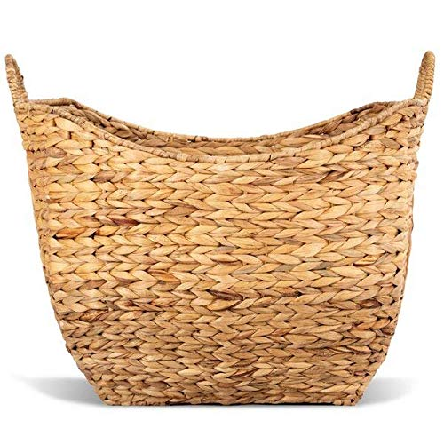Highland Dunes Eco-Friendly Natural Wicker Laundry Basket + Free Basic Design Concepts Expert Guide from Highland Dunes
