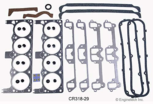 (DODGE CHRYSLER CAR TRUCK 318 5.2L 1970-1989 COMPLETE PREMIUM GASKET KIT)