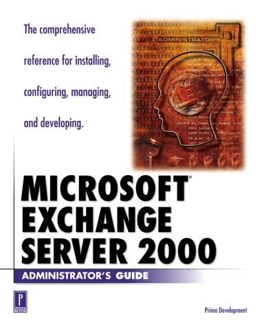 Download Microsoft Exchange 2000 Server (Administrator's Guide) ebook