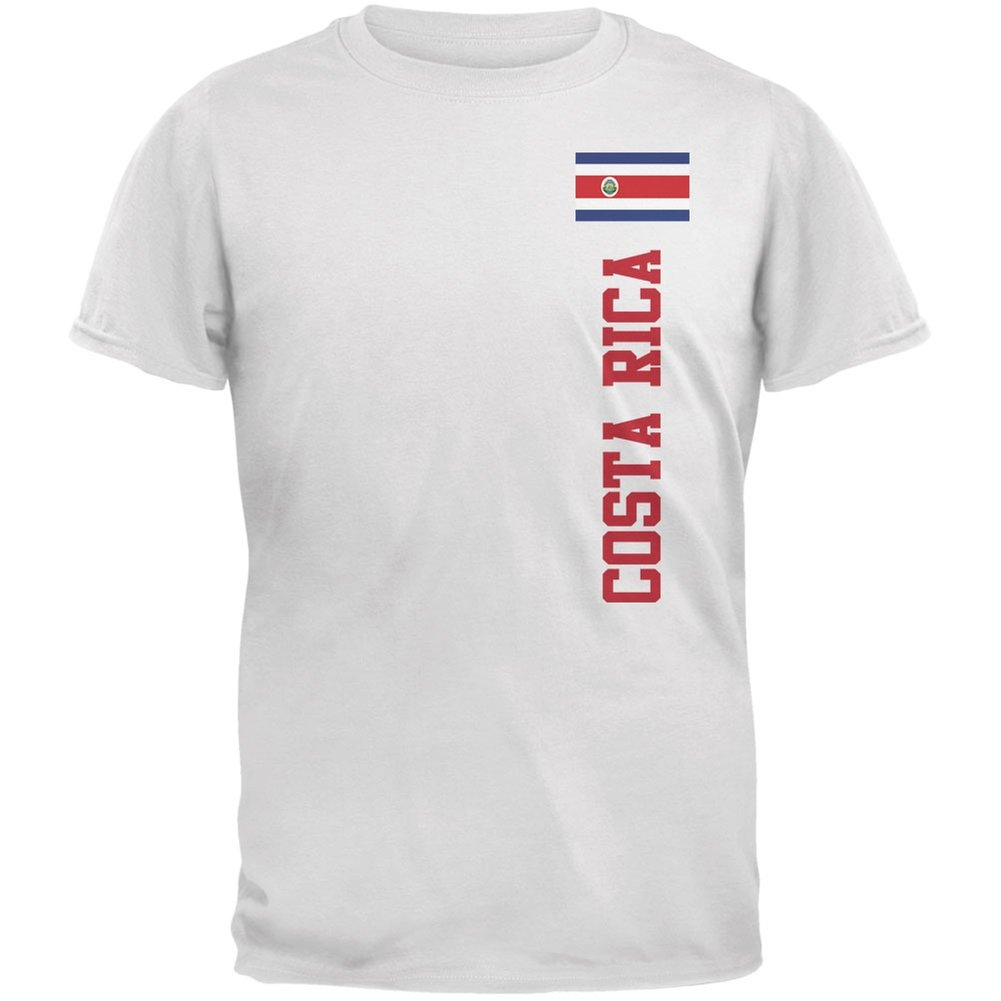 World cup costa rica white adult shirt clothing jpg 1001x1001 Costa rica  world cup uniforms f268f5d65