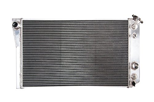QSC 3-ROW ALUMINUM RADIATOR for 82-02 CHEVY S10/BLAZER/-90 CORVETTE V8