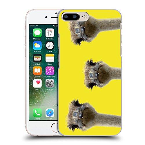 GoGoMobile Coque de Protection TPU Silicone Case pour // Q05530625 3 autruches Giallo canarino // Apple iPhone 7 PLUS