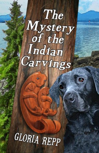 The Mystery of the Indian Carvings by [Repp, Gloria]